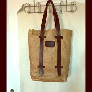 Proenza Schouler leather paper bag tote